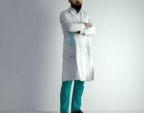 surgeon 3D Scan Man Doctor 026