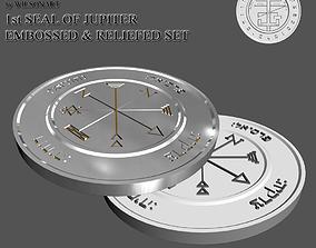 3D print model 1st Seal of Jupiter