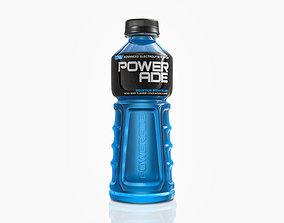 3D asset Powerade Bottle
