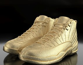 Air Jordan 12 Retro 3D printable model air