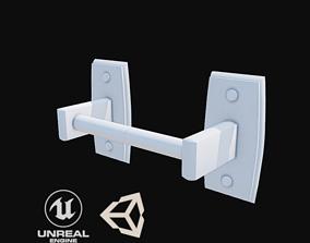 3D asset Toilet roll holder -sample