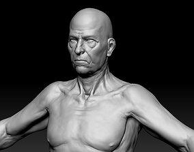 Oldster base model 3D