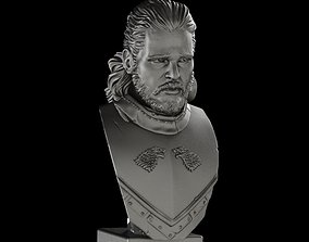 JON SNOW GAME OF THRONES Kit Harrington 3D print model