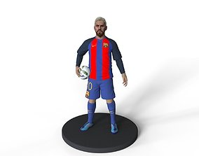 argentina ball Lionel Messi 3d printable model