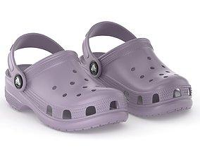 Crocs Classic Clog Lavender 3D