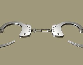 arrest 3D model Handcuffs