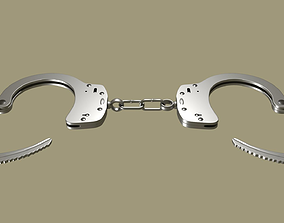 arrest 3D model Handcuffs