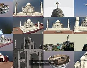 Monuments historic 3D model