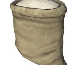 Sack of Flour 3D asset
