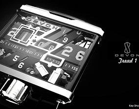 3D model Watch- Devon Tread