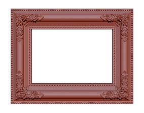bas Picture frame 3D printable model