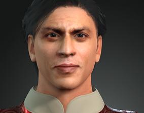 animated Sharokhan 3D Character design 3D model Ready for