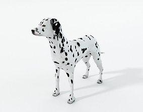 3D asset Dalmatian