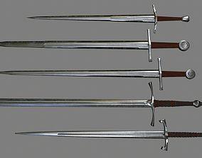 sword set 2 3D asset