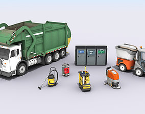 clean 3D Cleaning And Garbage Equipment