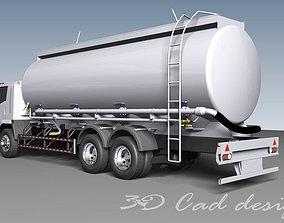 Truck Cement Powder 3D model