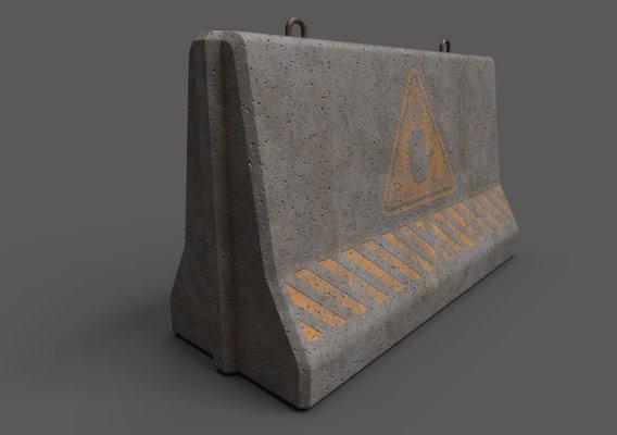 Concrete Barrier