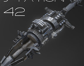3D model Station 42 - Mid to Low Poly Highly Detailed 2