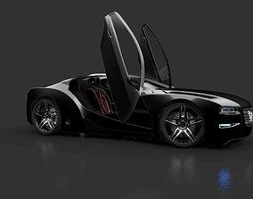 Affekta Cyclonic with Interior Concept car 3D model