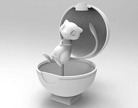 Pokemon MEW Figure 3D Printable Model