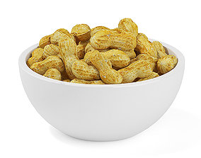 Bowl of Peanuts 3D model