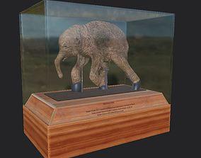 3D Mammoth luba model VR / AR ready