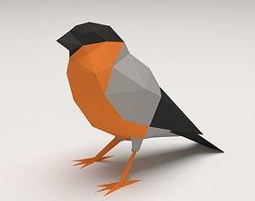 Bird - Bullfinch 3D printable model