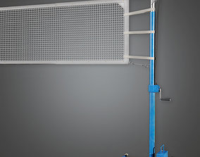 Volleyball Net 01a - SAG - PBR Game Ready 3D model