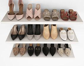 3D model Women shoes 04