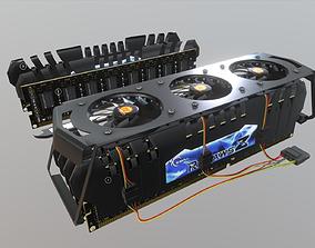 G Skill F3 19200CL11Q 16GBZHD 3D model low-poly