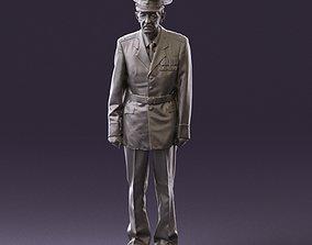 Old man in veteran suit 0915 3D Print Ready