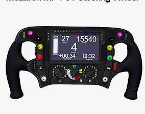 MP4-31 Steering Wheel 3D model