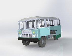 3D print model APP-66 bus