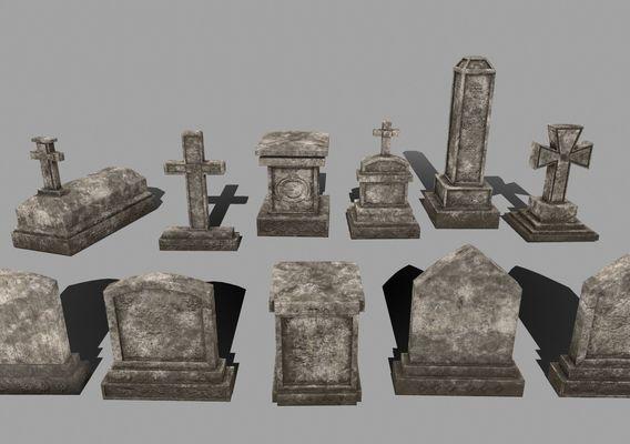 tombstone set