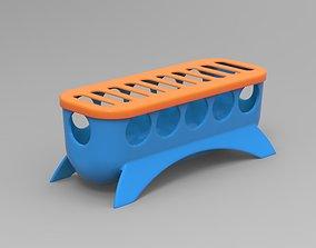 3D printable model Food Feeder for Quail Baby