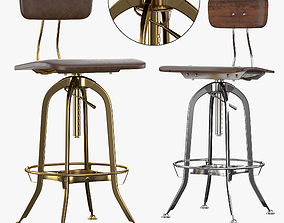 Bar Chair Toledo 3D