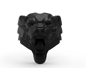 Panther Ring in Eu Size 3D printable model