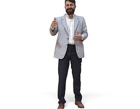 3D Talking Man with Suit CMan0338-HD2-O01P02-S