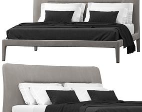Natuzzi VENERE bed 3D model
