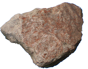 3D asset Small Stone Rock