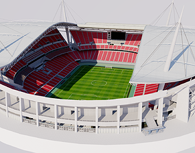 3D model Toyota Stadium - Japan