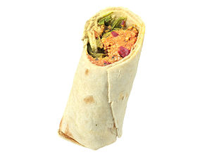 Photorealistic Couscous Wrap 3D Scan
