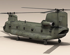 CH-47 US Army 3D model