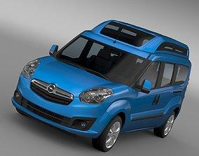 Opel Combo Tour High Roof LWB D 2015 3D