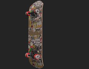 exterior-public skateboard 3D