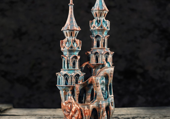 The Bronze City - 3D Printable model