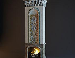 3D model Arabic Fireplace