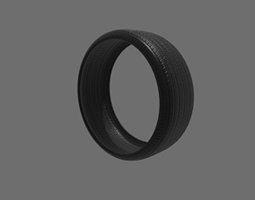 Tire part 3D asset