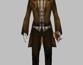 3D Skull Character