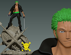 Zoro vs Pica - One piece - 3d Print